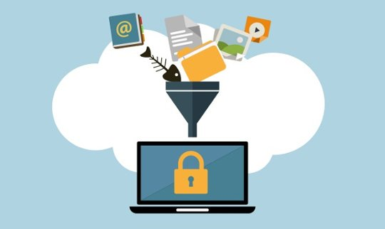 Sistem filtering pada fitur Data Loss Prevention
