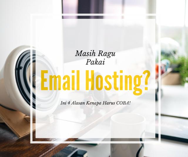 coba pakai email hosting gratis dari Google