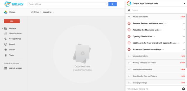 Synergyse pada Google Drive