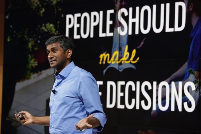 Mr. Prasad Setty dari Google