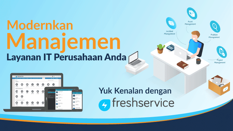manajemen layanan it freshservice