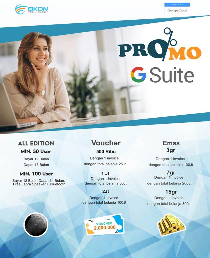promo g suite eikon technology